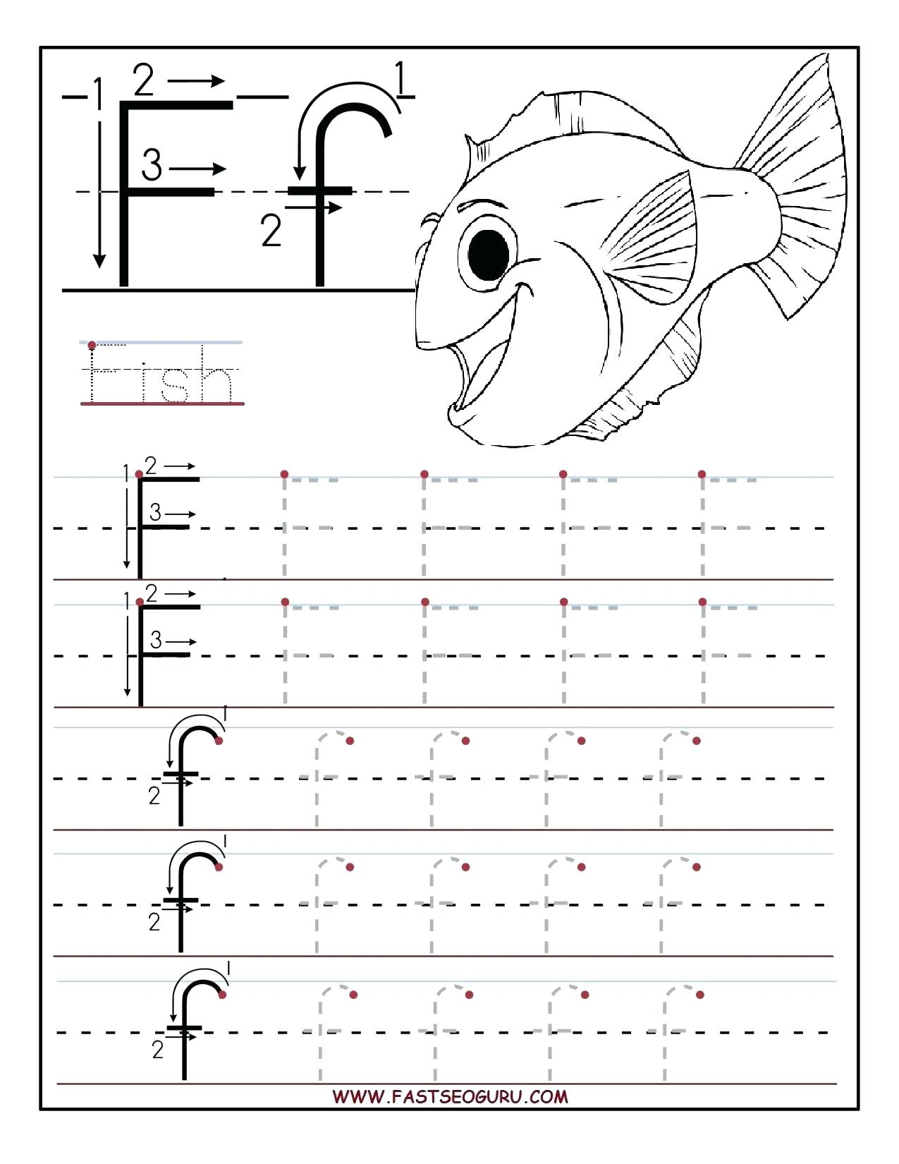 15 Useful Letter F Worksheets For Toddlers