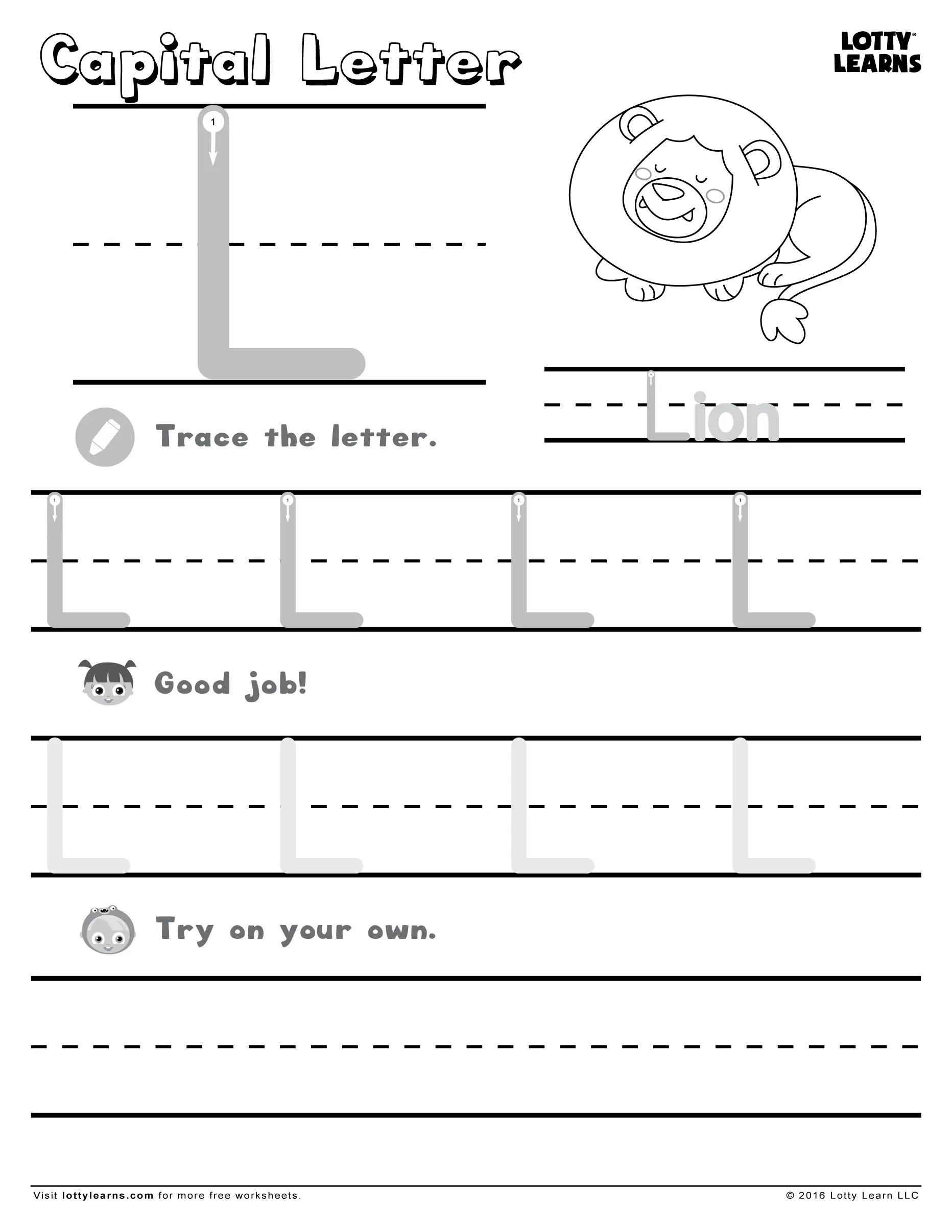 18 Entertaining Letter L Worksheets For Kids