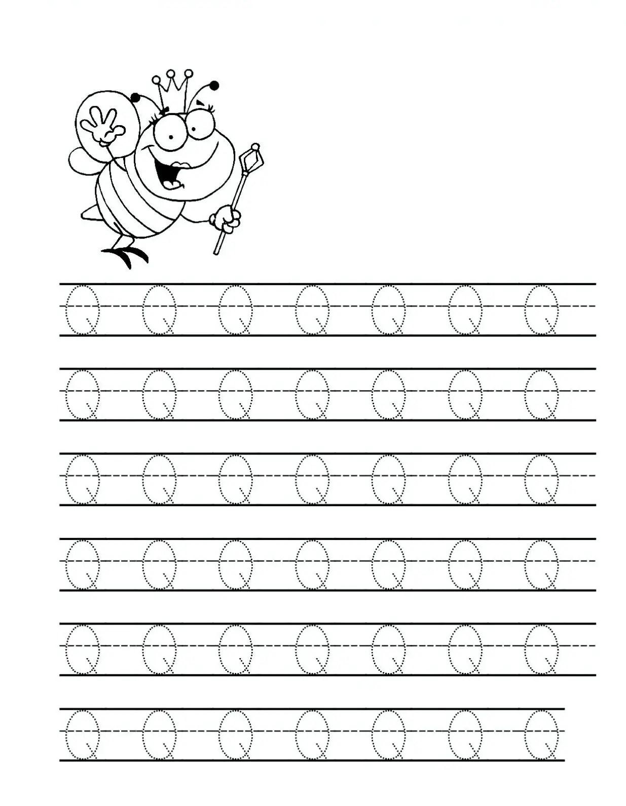15 Educative Letter Q Worksheets