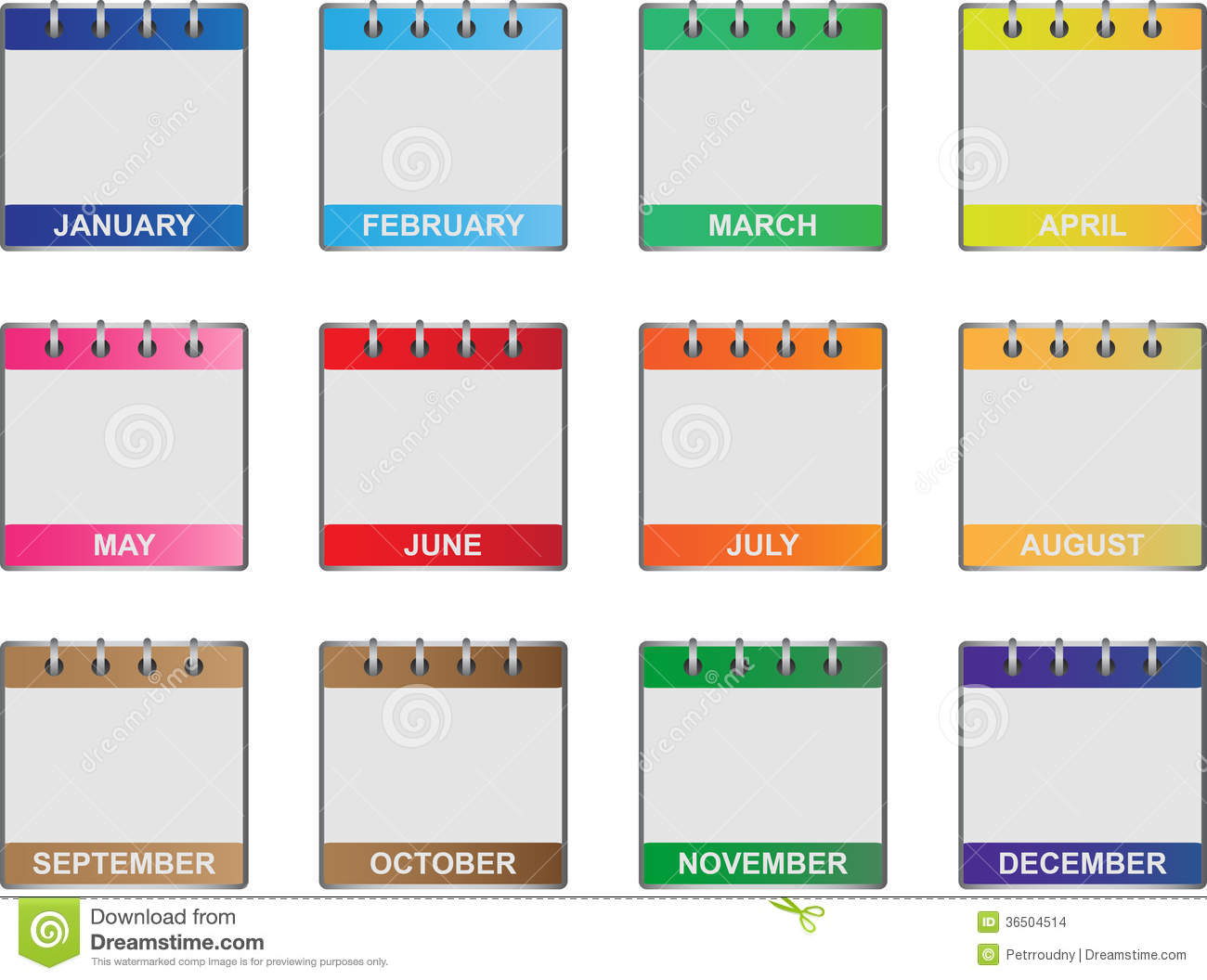 32 Helpful Blank Monthly Calendars