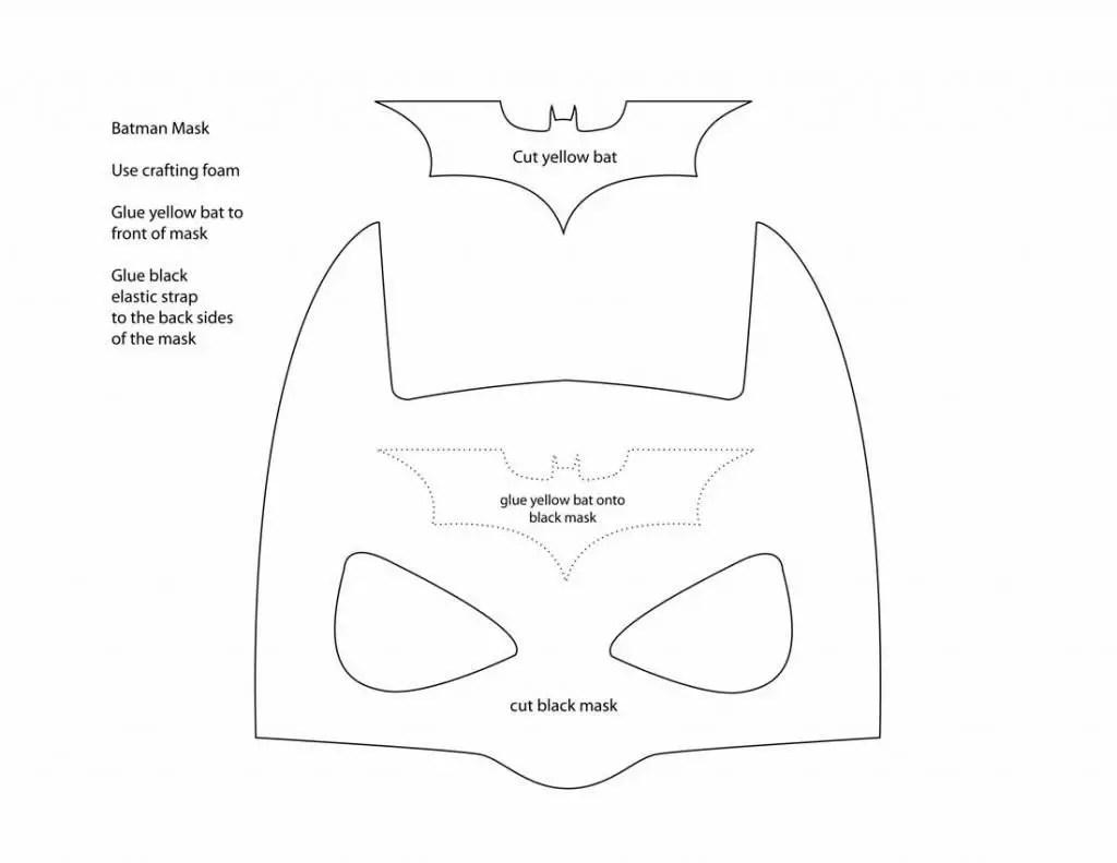 10 Fun Batman Mask Printables