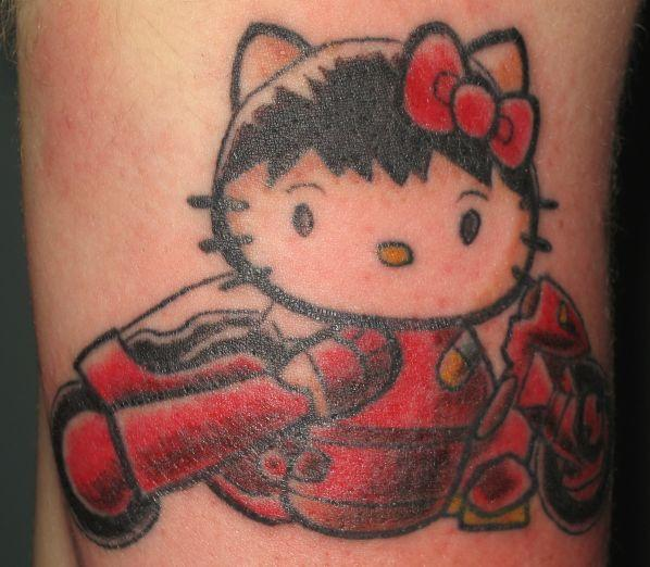 and other anime characters into tattoos — which only produces Hello