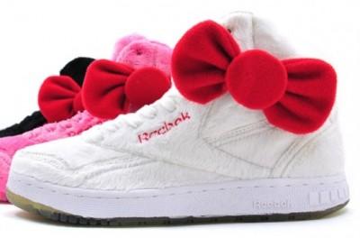 hello kitty plush Reebok shoes