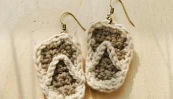 Crochet strawberry earrings pattern kittying crochet pattern slipper earrings crochet pattern ccuart Gallery