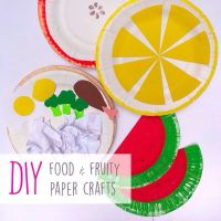 DIY : Fruity Paper Plates