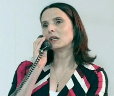 Kitty Martin as Finance Concultant Jessica Howells in BT Cisco Fluid, a green Screen shoot for Broadview