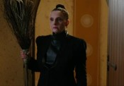 Kitty Martin as Miss Darkside in The Worst Witch. CBBC