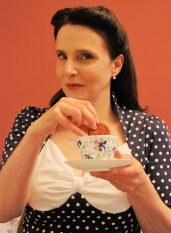 Kitty Martin as Phyllis in Everything Stops For Tea