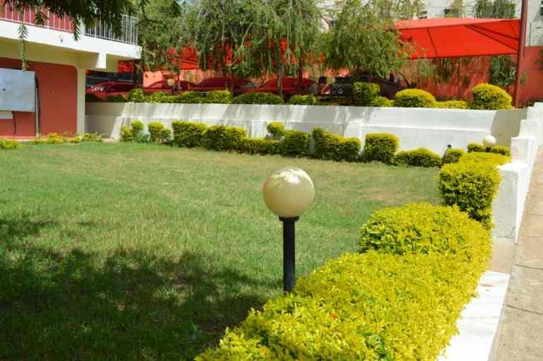 Kitui Premier Resort Front Lawn
