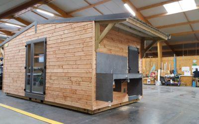un bloc sanitaire pour un camping