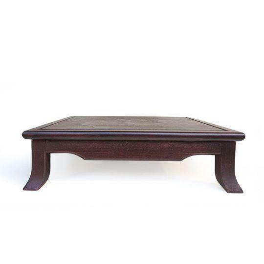 tavolino per esposizione bonsai