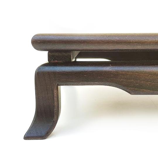 tavolino bonsai da esposizione