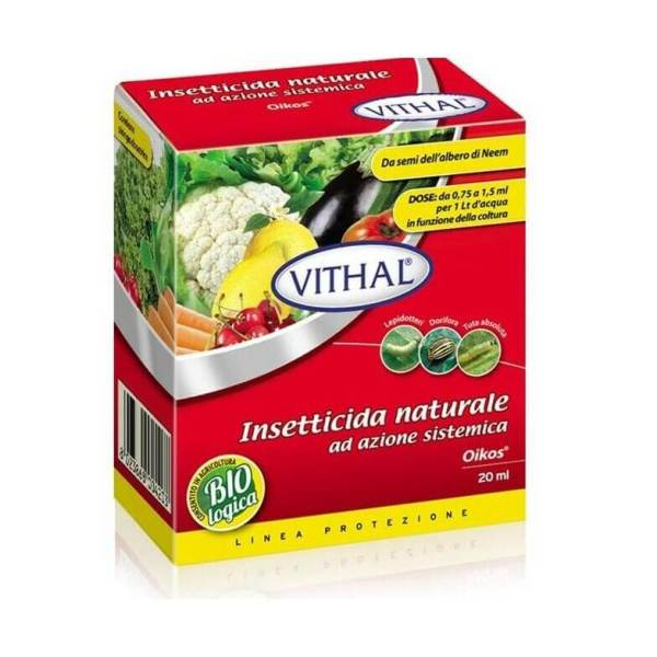 Agisce per contatto diretto ed ingestione E' dotato di azione sistemica. Il prodotto possiede un effetto collaterale sugli acari.