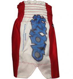 Kimono Kick Boks Şortu – Federasyon Onaylı Maç Şortu