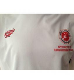 Kimono Kick Boks Tişört, Federasyon Onaylı Maç Tişörtü