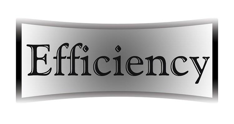 efficiency