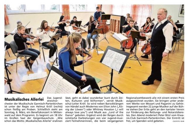 Garmisch-Partenkirchner Tagblatt 1.3.2016