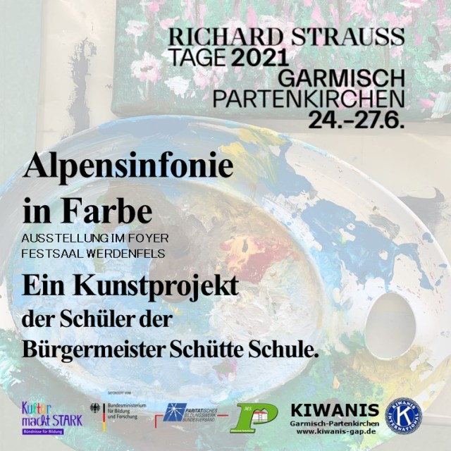 Alpensinfonie Plakat