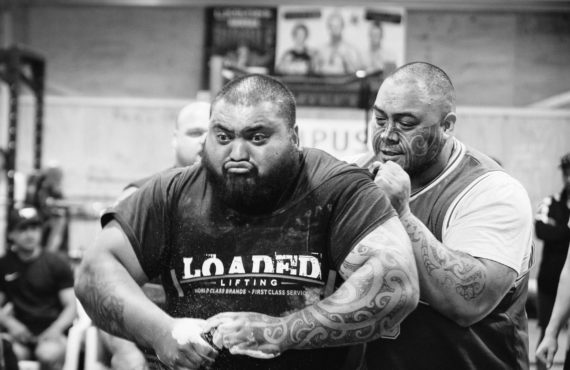 Powerlifters reach for the rafters as records tumble