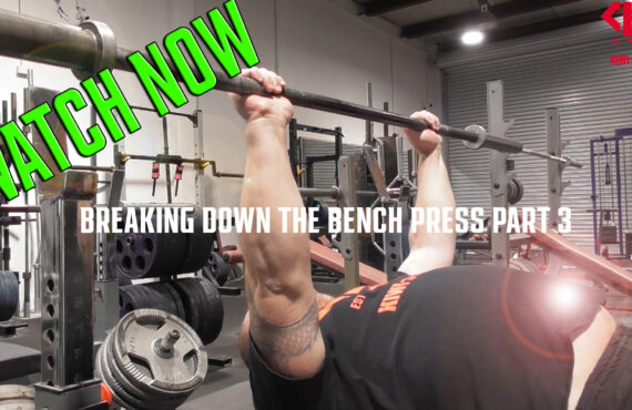 Finding Your Bench Bar Line