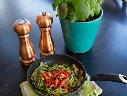 Pesto Zoodles