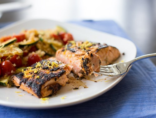 Napa Valley Rub Salmon