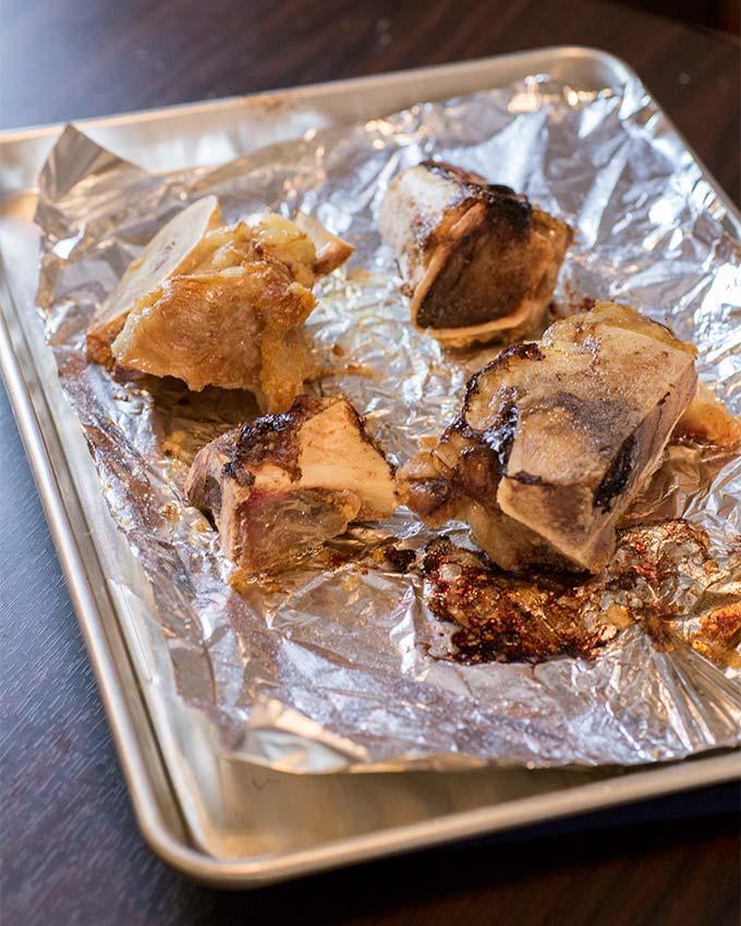 Step-by-step of how to make bone broth