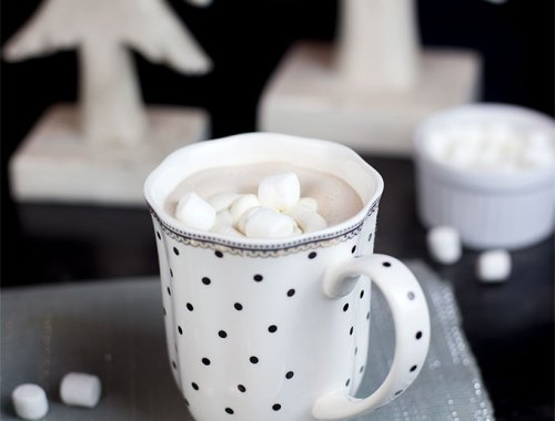 This Homemade Heavenly Hot Chocolate is an easy, delicious alternative to store-bought cocoa mixes, combining a rich chocolate mousse with cream for a decadent treat.