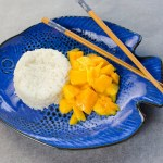Coconut Sticky Rice with Fresh Mango