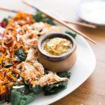 Thai Coconut Salad with Peanut Sauce