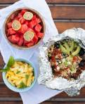 Mexican Tin Foil Dinners