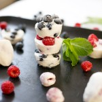 Frozen Yogurt-Berry Bites