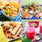 Summertime Mexican Menu