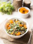 Lentils and Quinoa Power Bowl