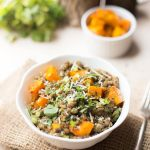 Lentils and Quinoa Power Bowl