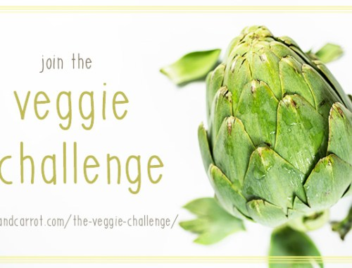 Take charge of your health this New Year and pledge to Join the Veggie Challenge! The challenge includes recipe ideas, weekly emails and multiple giveaways!