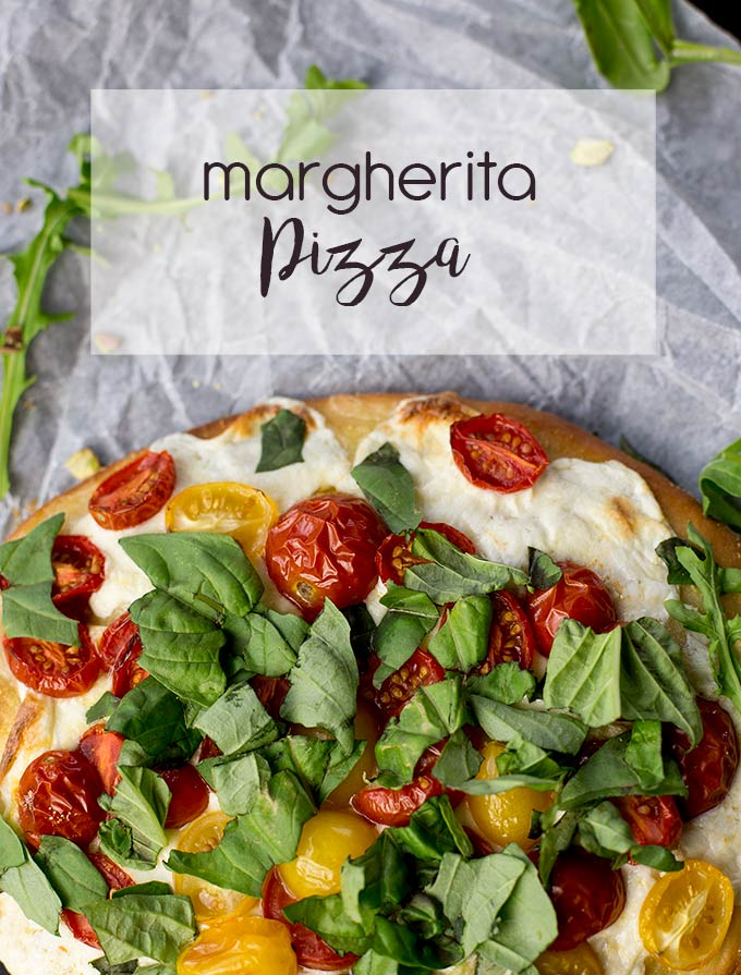 Pizza Three Ways: tomatoes and basil, berries and asparagus or beets and goat cheese...Yum! Or use your fave toppings for your very own signature pie!