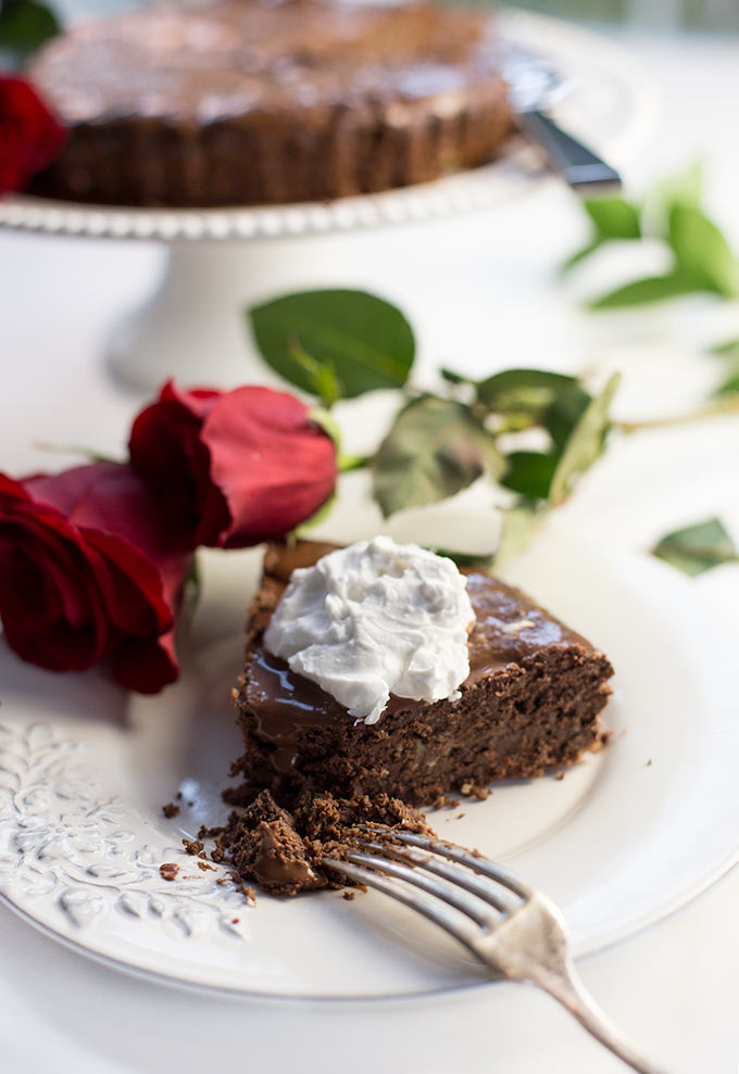 Almond Joy Chocolate Torte combines dark chocolate, almonds and coconut in one luscious cake. A fairly clean-eating, rich, chocolate dessert!