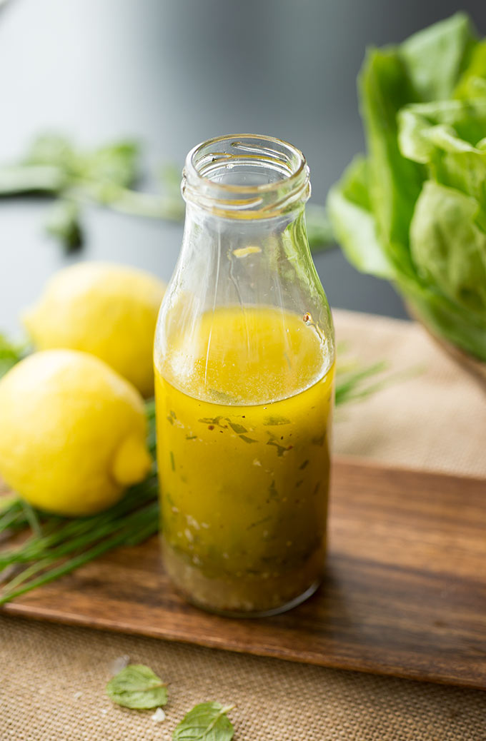 Three Spring Salad Dressings: Lemon Basil Strawberry, Honey Mint, and Basil Chive Garlic...three unique choices for fresh, light, delicious salads!
