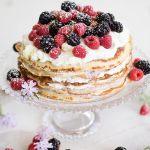 Step-by-Step Breakfast Crepe Cake