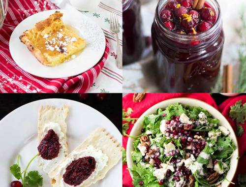 Our Top Christmas Recipes - need some holiday Christmas recipe ideas? We have everything from gingerbread oats to homemade hot cocoa to a Christmas Salad!
