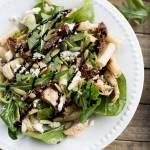 Balsamic Chicken and Brown Rice Pasta Salad