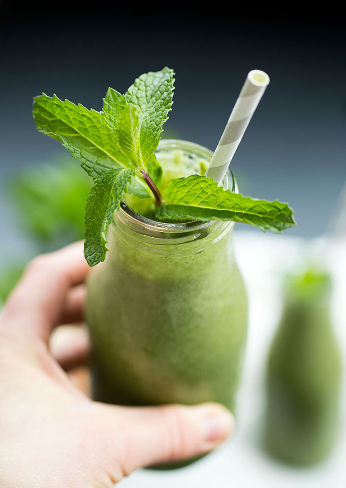 Minty Shamrock Smoothie
