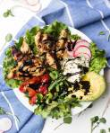 Lemon Chicken Spring Salad