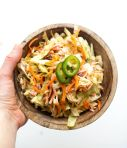 Quick and Easy Spicy Coleslaw