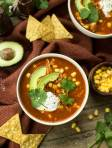 Adobo Chicken Tortilla Soup (with Instant Pot Version)