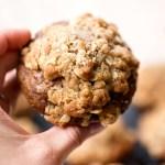Apple Zucchini Streusel Muffins