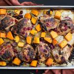 One-Pan Cranberry Herb Chicken