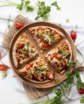 20-Minute BBQ Chicken Pita Pizza