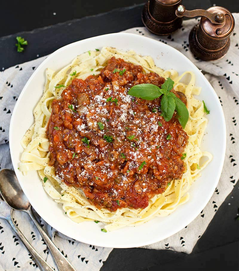 Fill the Freezer Spaghetti Sauce combines spicy Italian sausage with veggies in a fragrant tomato base. Make a huge batch and freeze for later!